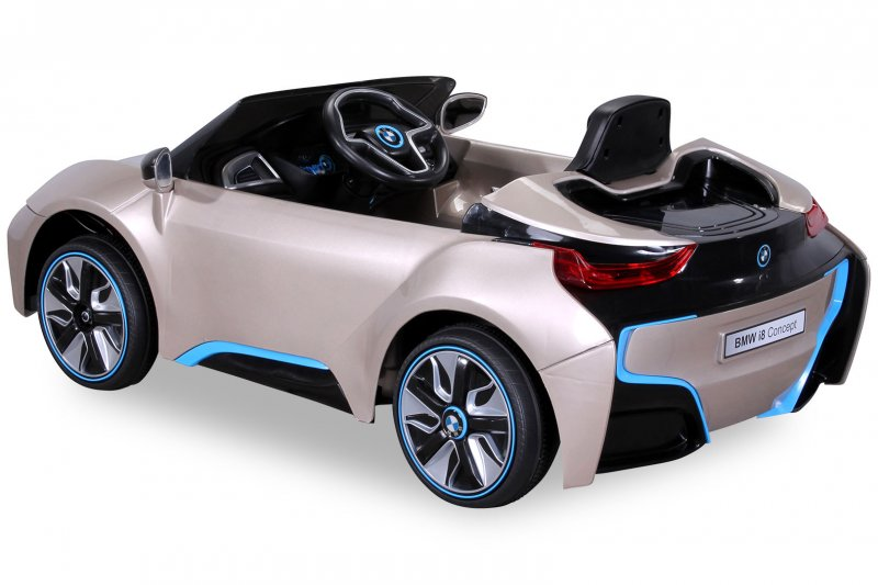 kinder bmw i8 gold. Black Bedroom Furniture Sets. Home Design Ideas